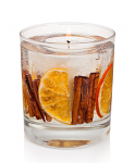 Stoneglow Candles Cinnamon & Orange Botanical Gel Tumbler