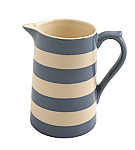 Fairmont & Main Kitchen Stripe Blue Medium Jug - 550ml
