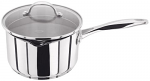 Stellar 7000 Stainless Steel Saucepan with Draining Lid 20cm