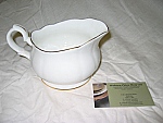 Duchess China Gold Edge - Gravy Boat