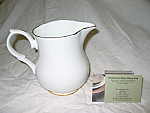 Duchess China Gold Edge - Milk Jug