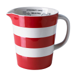 Cornishware - Cornish Red - Graduated Jug 56cl