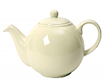 London Pottery Globe Teapot 6 Cup Ivory