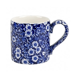Burleigh Blue Calico Mug 284ml 0.5 Pint