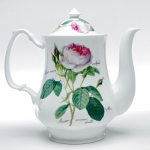 Roy Kirkham Redoute Rose Coffee Pot