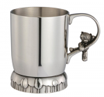 Royal Selangor Teddy Bears Picnic Childs Mug Christening Cup