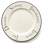 Fairmont & Main - Script Dinner Plate