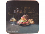 Patisserie - Creative Tops  6 Premium Coasters