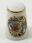 Beatrix Potter Peter Rabbit in the Park Thimble