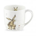 Royal Worcester Wrendale Designs - Mug - Hare - Good Hare Day