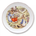 Beatrix Potter Peter Rabbit in the Park Wall Plate 15cm