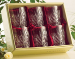 Galway Crystal Kells Double Old Fashioned Whisky Tumblers - Set of 6