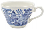 Churchill China Blue Willow Teacup (Georgian) Mint 200ml