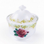 Roy Kirkham Vintage Rose Covered Sugar Bowl