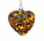 Amelia Friendship Birthstone Heart - Medium - Topaz - November