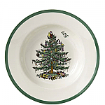 Spode Christmas Tree - Soup Plate 9 inch 23cm