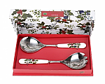 Portmeirion Holly & Ivy Salad Servers