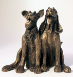 Frith Sculpture - Dogs - Tom & Fred