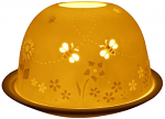 Light Glow Busy Bees Tealight Candle Holder