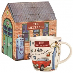 At Your Leisure - The Mechanic Mug in Giftbox