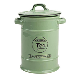 T&G Pride of Place Tea Jar in Old Green