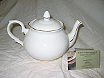 Duchess China Gold Edge - Teapot Medium 4 cup