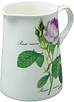 Roy Kirkham Redoute Rose Water Jug Medium 470ml