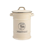 T&G Pride of Place Tea Jar in Old Cream