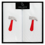 Men's White Handkerchiefs - Hammer - Twin Pack