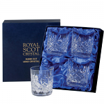 Royal Scot - London - Presentation Box 4 Large Tumbler Set