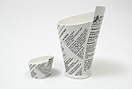 Maxwell & Williams - White Basics Newsprint French Fries