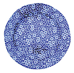 Burleigh Blue Calico Plate 21.5cm 8.5inch