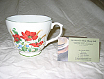 Duchess China Poppies - Breakfast Cup