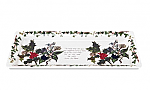 Portmeirion Holly & Ivy Sandwich Tray 30x13cm 12x5inch