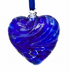 Amelia Friendship Birthstone Heart - Medium - Sapphire - September