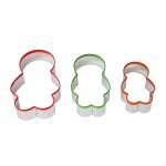 Dexam Jelly Baby Family Cookie Cutters - Set of 3