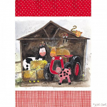 Alex Clark Farmyard Tea Towel