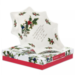 Portmeirion Holly & Ivy Holly Dish 25cm