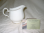 Duchess China Gold Edge - Cream Jug (Tea) Large Size