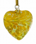Amelia Friendship Birthstone Heart - Medium - Peridot - August