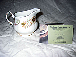 Duchess China Greensleeves - Cream Jug (Coffee) Small Size