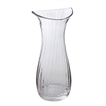 Dartington Smile Large Vase Clear Optic