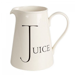 Fairmont & Main - Script Large Jug - Juice
