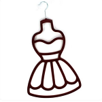 Scarf Hanger - Burgundy Dress