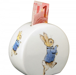 Beatrix Potter Peter Rabbit Money Bank Round