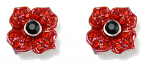 Poppy Earrings Stud - 4 Petal