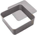 Judge Bakeware - Square Cake Tin - Loose Base 23x23x7cm