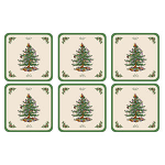 Spode Christmas Tree - Coasters Set of 6