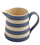 Fairmont & Main Kitchen Stripe Blue Creamer