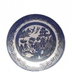 Churchill China Blue Willow Salad Bowl